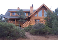Payson Log Home